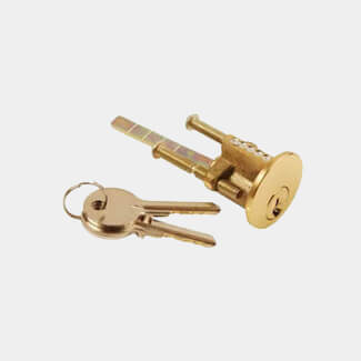 Dale Night Latch Replacement Cylinder - Various Finishes Available