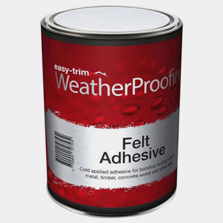 Easy Trim Easy Proof Felt Adhesive - Sizes Available