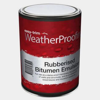 Easy Trim Easy Proof Rubberised Bitumen Emulsion - Sizes Available