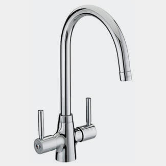 Bristan Monza Kitchen Sink Mixer Tap With EasyFit Base