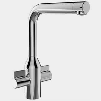 Bristan Wine Kitchen Sink Mixer Tap With EasyFit Base