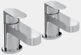 Bristan Frenzy Pair Of Deck Mounted Basin Taps