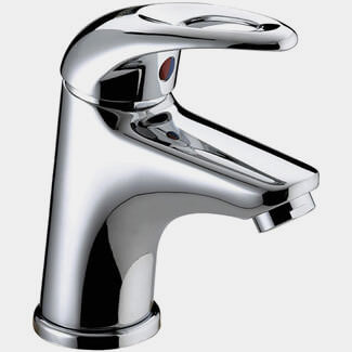 Bristan Java Cloakroom Basin Mixer Tap With Clicker Waste