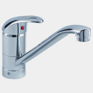 Bristan Java Easyfit Chrome Single Flow Kitchen Sink Mixer Tap