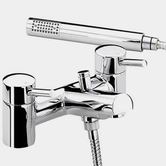 Bristan Prism Chrome Plated Bath Shower Mixer Tap