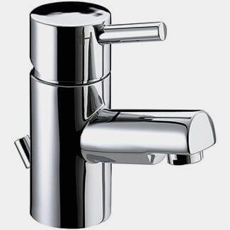 Bristan Prism Cloakroom Small Basin Mixer Tap With Pop-up Waste