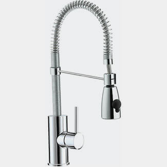 Bristan Target Monobloc Kitchen Sink Mixer Tap With Pull Out Spray