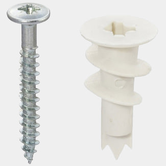 Fischer Plasterboard Fixings Nylon Self-Drill