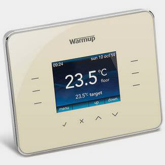 WarmUp 3iE Energy Monitor Thermostat Classic Cream
