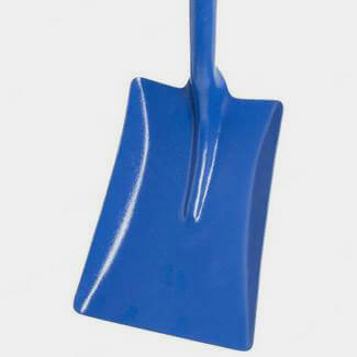 Buildworld Square Mouth Tee Handled Shovel With Ash Shaft