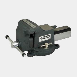 Stanley Maxsteel Heavy-Duty Bench Vice - Various Jaw Width Available