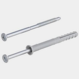 Fischer 6 x 60mm Hammer Fixings Plug And Nail-Screw