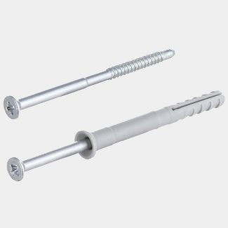 Fischer 8 x 100mm Hammer Fixings Plug And Nail/Screw