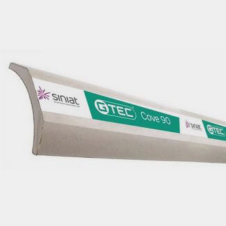 Siniat 3000mm Long Plaster GTEC Coveing - Various Width Available