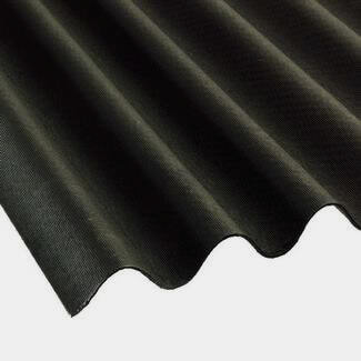 Molan Corrugated Bitumen Sheet 930mm x 2000mm - Available In Various Finish