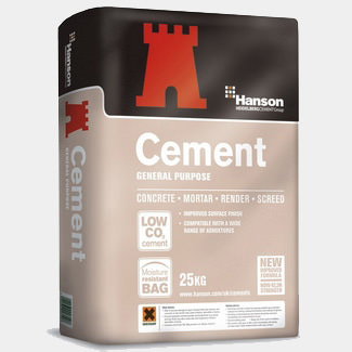 Hanson General Purpose CEM II Cement 25Kg