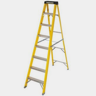 Youngman S400 GRP Trade Stepladder 8 Tread