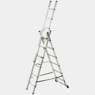 Youngman Combi 100 2m 4 Way Combination Ladder