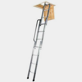 Youngman 3 Section Easiway Sliding Aluminium Loft Ladder