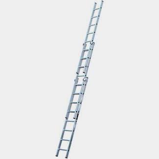 Youngman Trade 200 3 Section Extension Ladder 2.5m