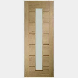 XL Joinery Palermo 1 Light Internal Oak Door - Various Sizes Available