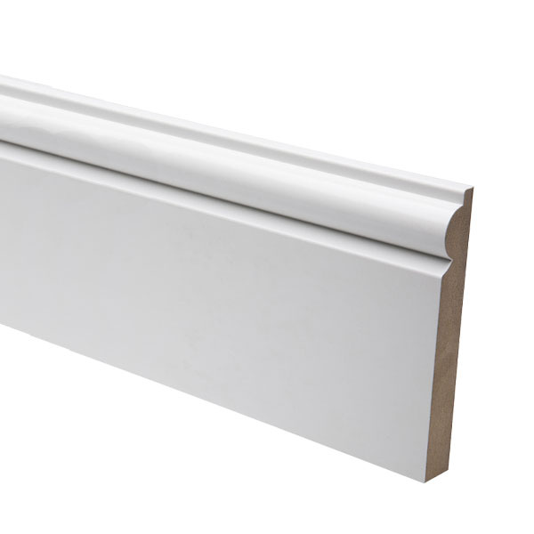 White MDF Skirting Boards